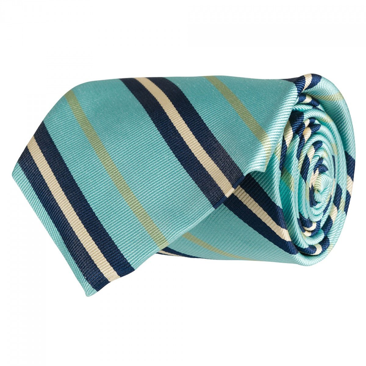 Mellow Yellow Stripe Gent - Turquoise